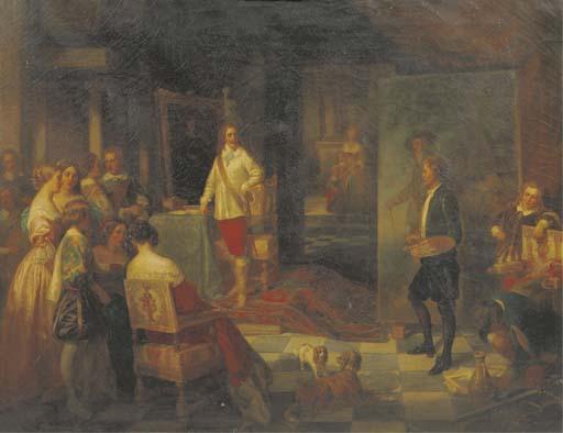 Karl Bennert (German, 1815-188