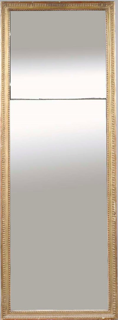 A French giltwood frame