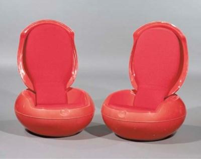 (2) A pair of fibreglass Garde