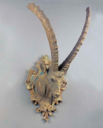 A capricorn antler