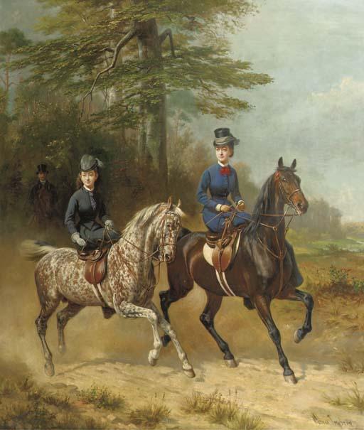 Conrad Freyberg (German, 1842-