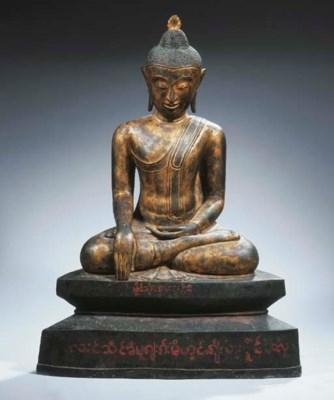 a large burmese, shan style, g