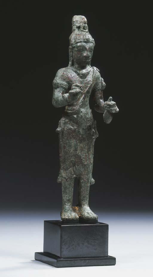 a peninsular thai bronze figur