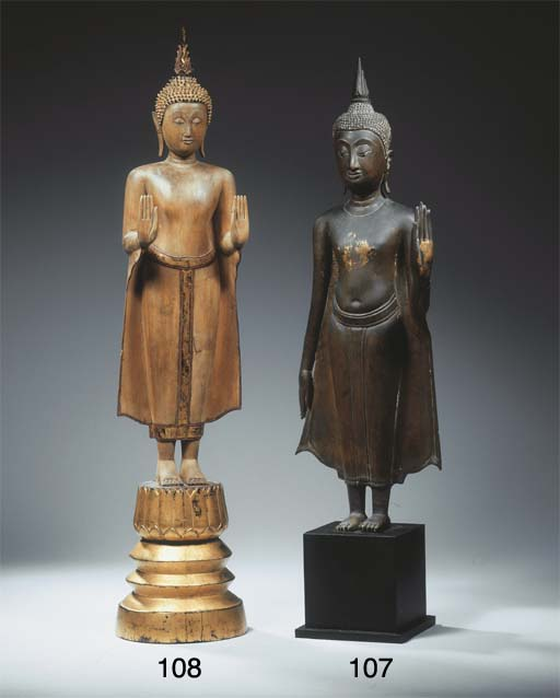 a thai, ayutthaya style, wood