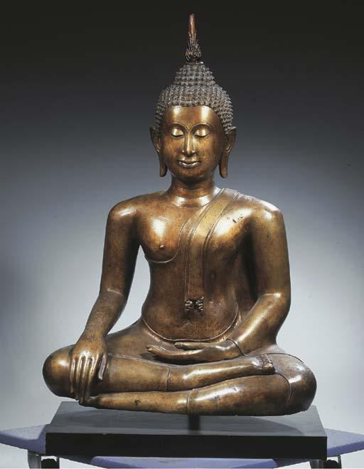 a thai, ayutthaya style, bronz