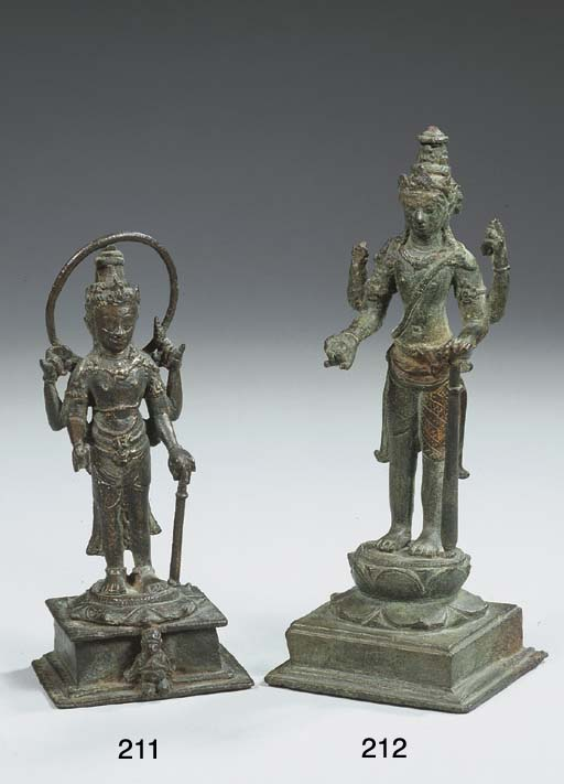 a central javanese copper figu