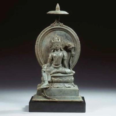 a rare northeast indian bronze