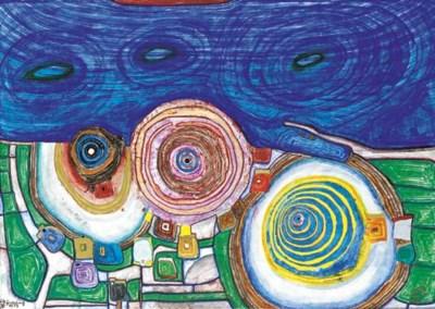 Friedensreich Hundertwasser (1