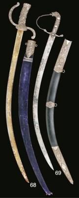 AN UNUSUAL DRESS SWORD