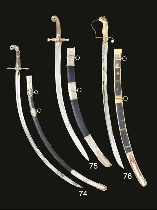 A SWORD OF LIGHT CAVALRY STYLE