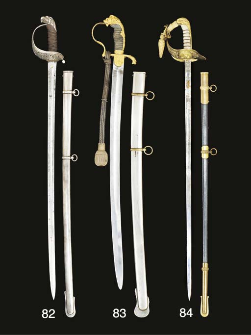 A PRESENTATION SWORD OF THE ST