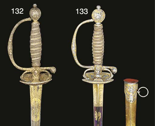 A FINE FRENCH SMALL-SWORD WITH