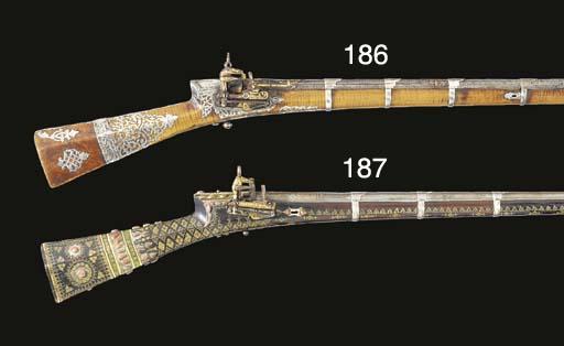 A 25-BORE TURKISH MIQUELET-LOC