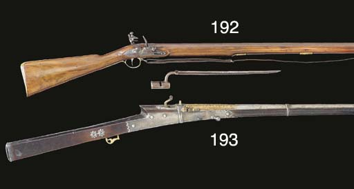 A 22-BORE INDIAN MATCHLOCK GUN