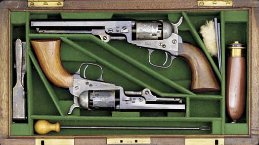 A RARE CASED SET OF .31 LONDON