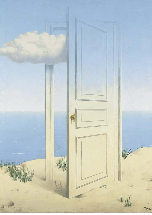 Lot 166 : magritte door - pezcame.com