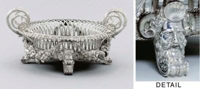 A George III massive silver tw