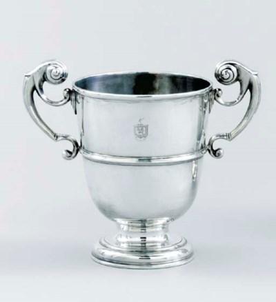 A George I Irish silver cup