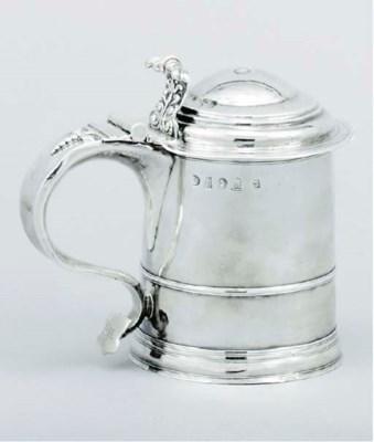 A Queen Anne provincial silver