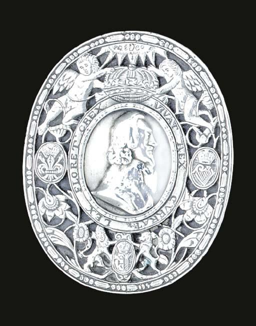 A Charles II silver tobacco-bo