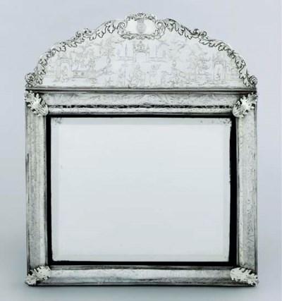 A Charles II silver-mounted mi