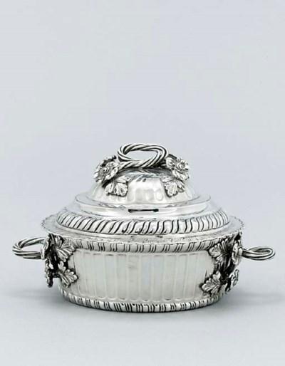 A Guatemalan silver bowl and c