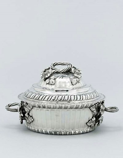 A Guatemalan silver bowl and c