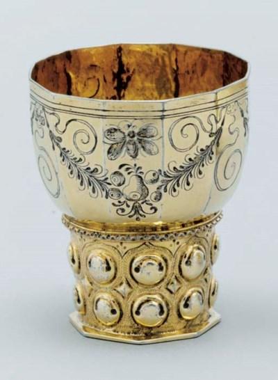 A German silver-gilt roemmer