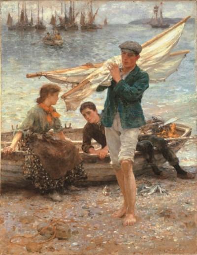 Henry Scott Tuke, R.A. (1858-1