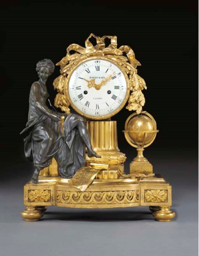 A LATE LOUIS XV ORMOLU AND PAT