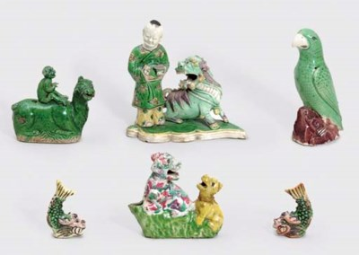 A GROUP OF SIX FAMILLE VERTE B