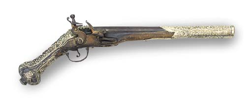 AN 18-BORE TURKISH FLINTLOCK H
