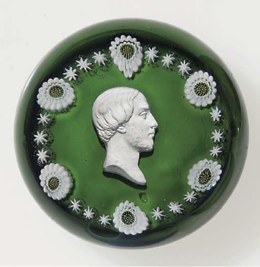 A Clichy green-ground sulphide
