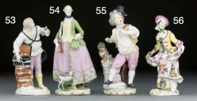 A Vienna figure of a schnapps-