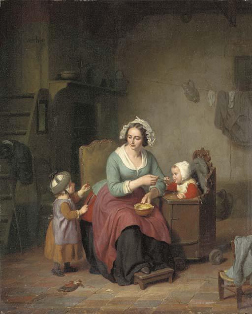 Basile de Loose (Dutch, 1809-1