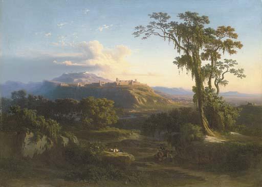 Johann Jacob Frey (Swiss, 1813