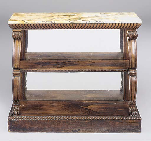 A SCOTTISH REGENCY ROSEWOOD CO
