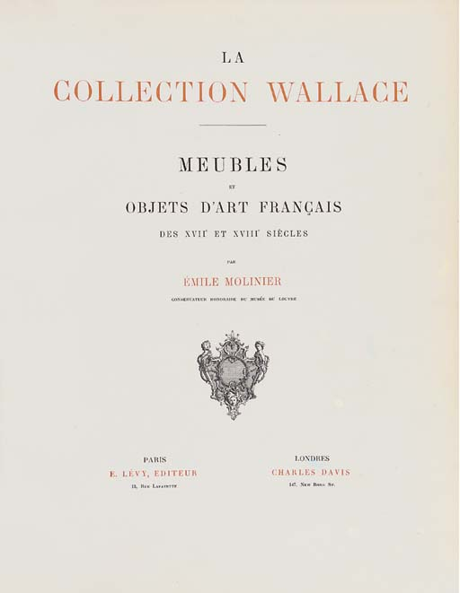 LA COLLECTION WALLACE -- MOLIN