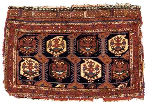 A PAIR OF QASHQAI SADDLE BAGS