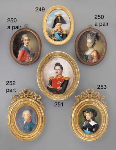 RUSSIAN SCHOOL, CIRCA 1825