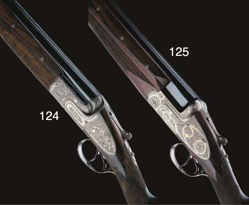 A FINE 12-BORE (2¾IN) OVER-AND