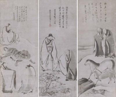 Manner of Kano Sanraku (19th C