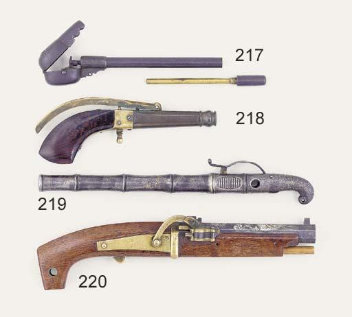 A Pill Lock Pistol