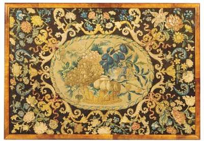 A DUTCH EMBROIDERY PANEL