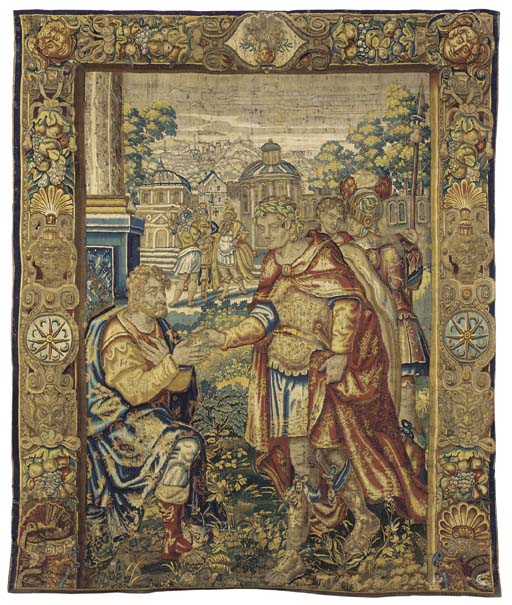 A BRUSSELS HISTORICAL TAPESTRY