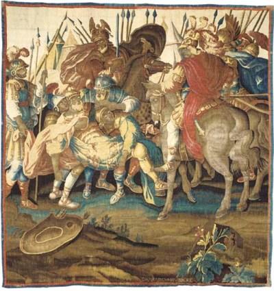 A LOUIS XIV AUBUSSON HISTORICA