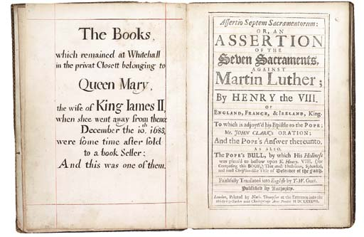 Henry VIII (1491-1547). Assert
