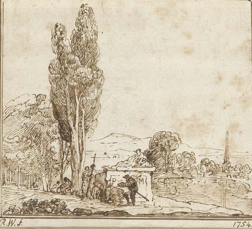 Richard Wilson, R.A. (1714-178