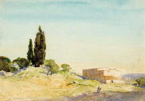 Cecil Arthur Hunt, V.P.R.W.S.