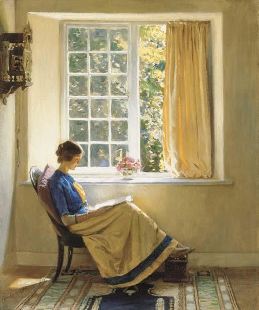 Harold Knight, R.A. (1874-1961